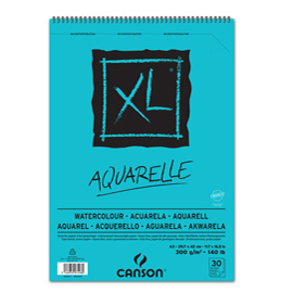 Album xl aquarelle f.to a3 300gr 30fg canson