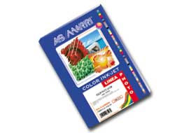 Carta inkjet a4 200gr 50fg photo lucida 8586 as marri