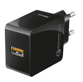 Caricabatterie usb a parete ultrarapido con qc3.0 and autorilevazione - trust