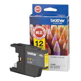 Cartuccia brother giallo lc12ey