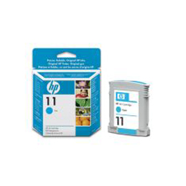 Cartuccia a getto d'inchiostro hp n.11 ciano 28ml