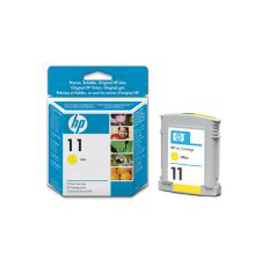 Cartuccia a getto d'inchiostro hp n.11 giallo 28ml