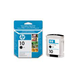 Cartuccia a getto d'inchiostro hp n.10 nero 69ml