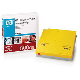 Cartuccia dati worm hp ultrium da 800gb
