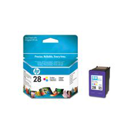 Cartuccia a getto d'inchiostro hp n.28 tricromia 8ml