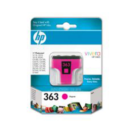 Cartuccia a getto d'inchiostro hp 363 magenta