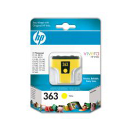 Cartuccia a getto d'inchiostro hp 363 giallo
