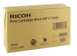 Cartuccia nero aficio mpc1500sp type mpc1500e 888547