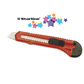 Cutter 18mm con bloccalama basic starline