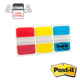 Dispenser 66 post-it index strong 686-ryb 25x38mm colori classici