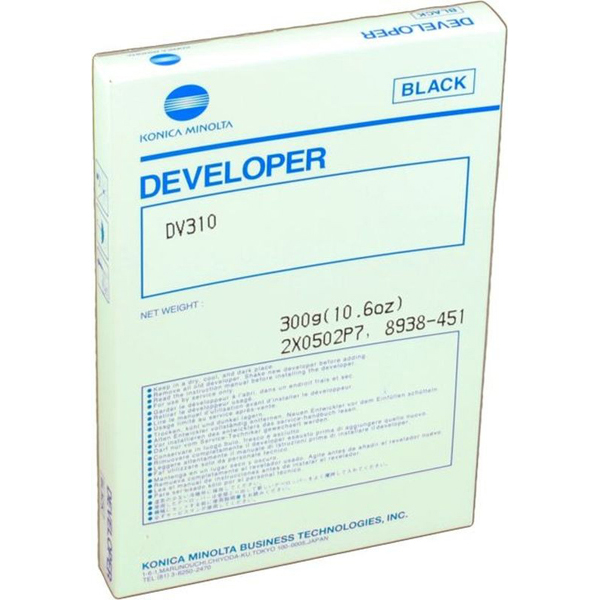 Developer per bizhub 250/350 dv-310